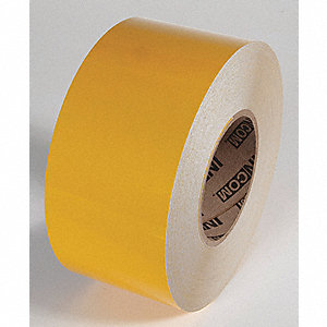 REFLECTIVE TAPE,YELLOW,150 FT L X 4 IN W