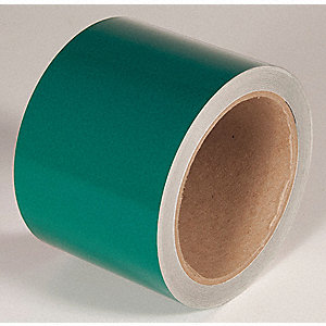 REFLECTIVE TAPE,GREEN,30 FT. L X 3 IN. W