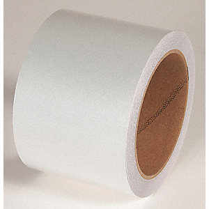 REFLECTIVE TAPE,WHITE,30 FT. L X 3 IN. W