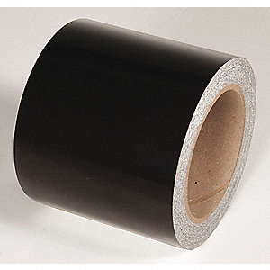 REFLECTIVE TAPE,BLACK,50 FT. L X 4 IN. W