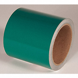 REFLECTIVE TAPE,GREEN,50 FT. L X 4 IN. W