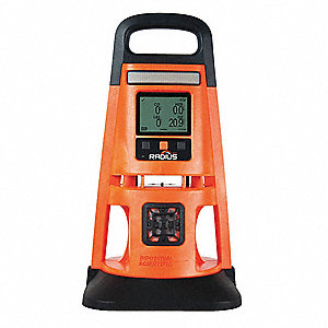 Multi-Gas Detector,Orange,Detects LEL,O2