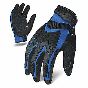 IMPACT MECHANICS GLOVE BLUE/BLACK M PR