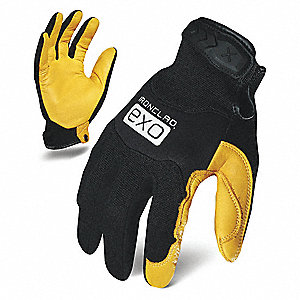 MECHANICS GLOVE 2XL BLACK/GOLD PR