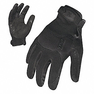 GLOVE HOOK & LOOP CUFF MECHANICS BLK XXL