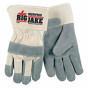 GLOVES,SAFETY,PREMIUM LEATHER,M