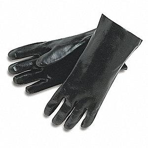 GLOVE,BLACK,L 12IN,PVC,LARGE