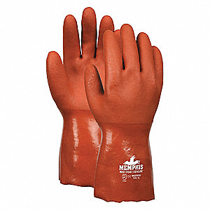 GLOVE,RED,L 12IN,PVC,XL