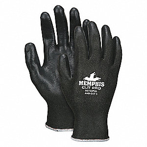 GLOVE,SYNTHETIC,BLACK,M