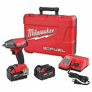 COMPACT IMPACT WRENCH KIT,3.3 LBS.,18 V