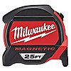 MAGNETIC TIP TAPE MEASURE,25 FT.,SAE
