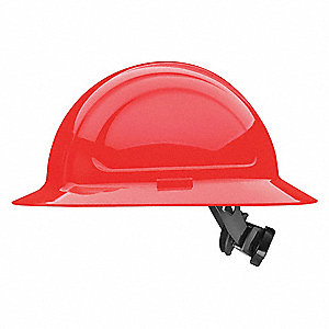 Hard Hat,Full Brim,N41 Series,Red
