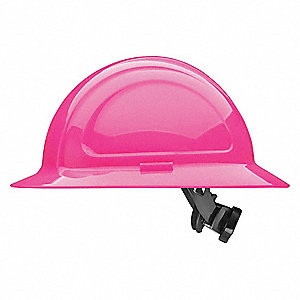 Hard Hat,Full Brim,N20 Series,Hot Pink