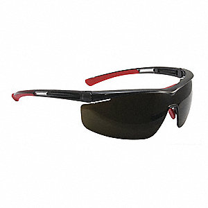 North Adaptec® Anti-Fog, Hydrophilic, Hydrophobic, Scratch-Resistant Safety Glasses, IR 5.0 Lens Col