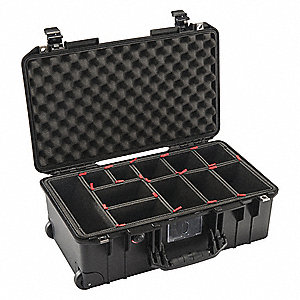 PROTECTIVE CASE,BLACK,21.96L X 13.97W IN