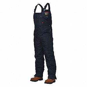 OXFORD INSULATED BIB OVERALL,NV,5XL