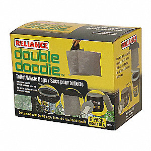 DOUBLE DOODIE BAG,PLASTIC