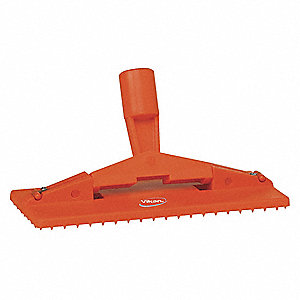 "FLOOR PAD HOLDER,9"" X 3.7"", ORANGE"