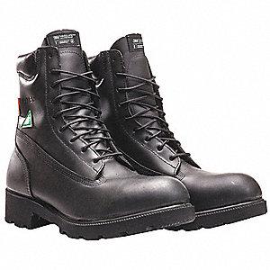 BLACK LINEMENS BOOTS - SZ 11