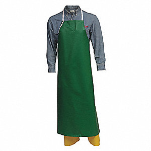 SafetyFlex Apron, 38x48in,Grn