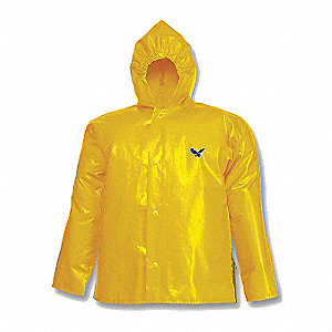 JACKET,NYLON,4X-LARGE,UNISEX,GOLD,SNAPS