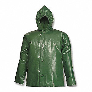 JACKET,NYLON,SMALL,UNISEX,GREEN,SNAPS