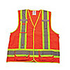 HI-VIS VEST,ORANGE,SMALL/MEDIUM,UNISEX