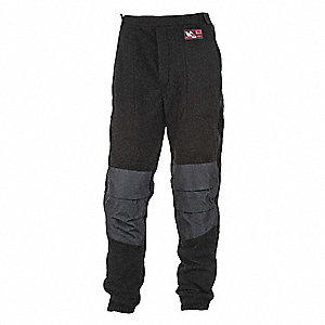 FLAME RESISTANCE PANTS,WAIST SIZE 35 IN.
