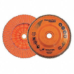 DISC FLAP 4-1/2 x 7/8 GR36/60 EF TURBO