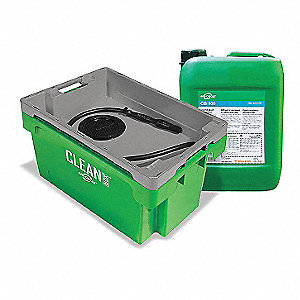 DIP TANK PARTS CLEANING SYSTEM,5.4 GAL.